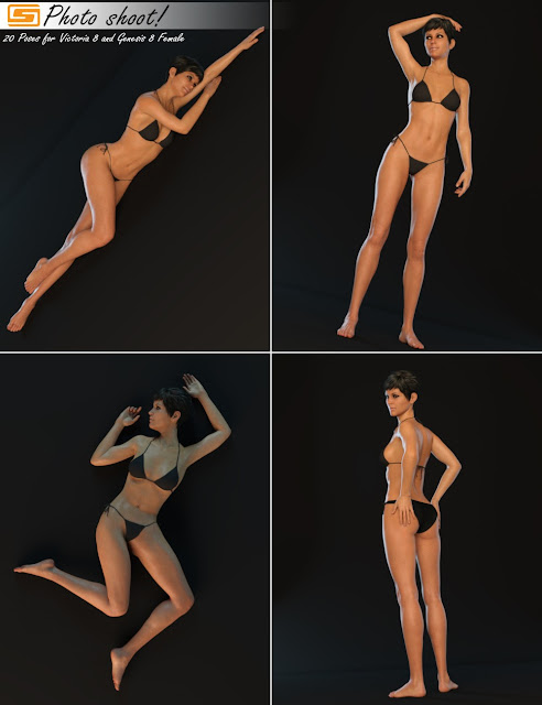 Photo Shoot! - Poses for Genesis 8 Female and Victoria 8