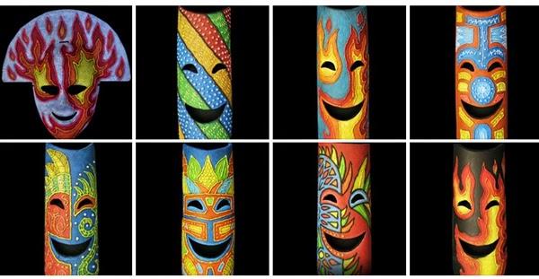 Azatri fiberglass masks - Masskara Festival - Bacolod City - Bacolod pasalubong - Bacolod blogger - Bacolod souvenirs - home decor
