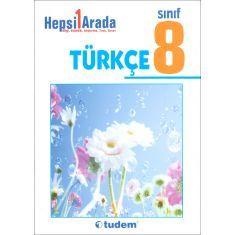Tudem 8.Sınıf Türkçe Hepsi 1 Arada