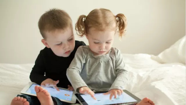 "Introducing a child to a device or ""gadget"" too early turns a child late in speaking"