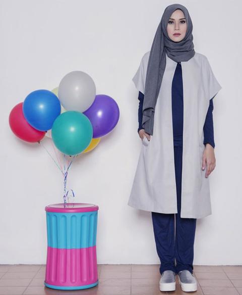 model baju rompi modern