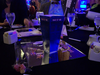 Tardis table centerpiece