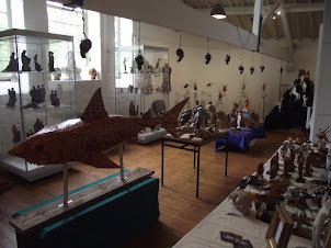 Kuriology exhibition at Helston Museum Cornwall
