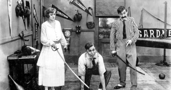 Early 20th century movie stills: Vim Comedy Company