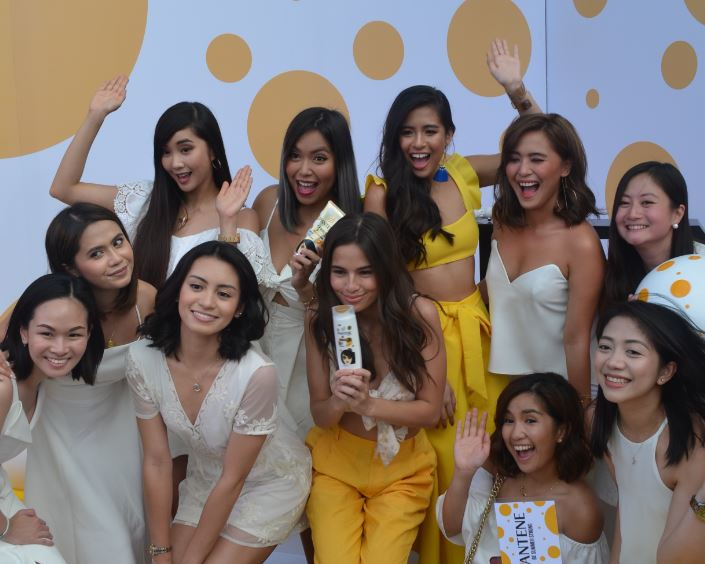 Pantene Philippines ambassadors looking golden for the summer at Pantene's #BeSummerStrong launch
