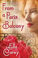 From a Paris Balcony by Ella Carey (Book cover)