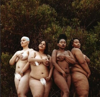South African plus size women pose completely naked in trending photoshoot