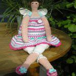 patron gratis muñeca tilda amigurumi | free pattern amigurumi tilda doll