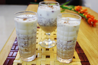 avil milk shake rice flakes milk shake easy dessert recipe with rice flakes yummy