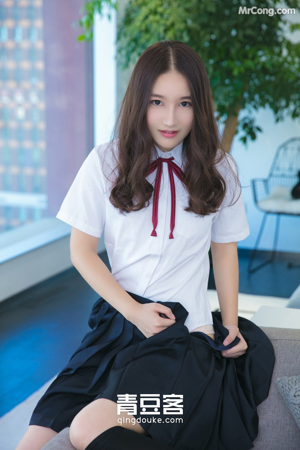 Image QingDouKe-2017-11-26-Wei-Niu-Niu-MrCong.com-007 in post QingDouKe 2017-11-26: Người mẫu Wei Niu Niu (魏扭扭) (51 ảnh)