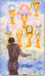 Seven of Cups, www.aquatictarot.de