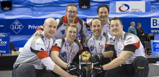 CURLING - Mundial masculino 2016 (Basilea, Suiza): Canadá retoma la corona mundial
