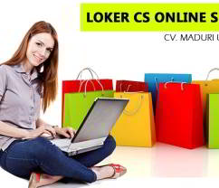 Lowongan Kerja CS Admin Online Shop