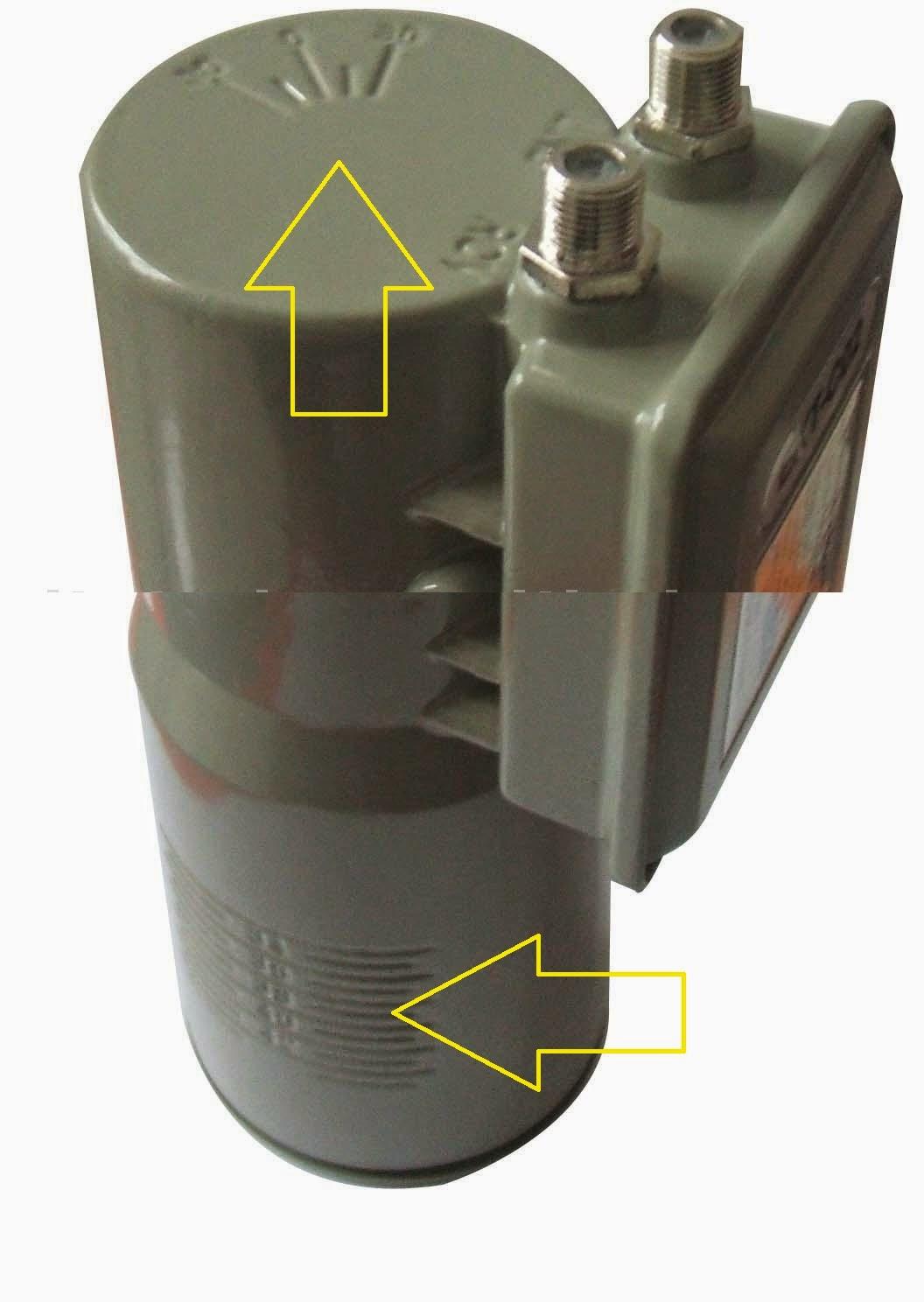 pin pemasangan lnb