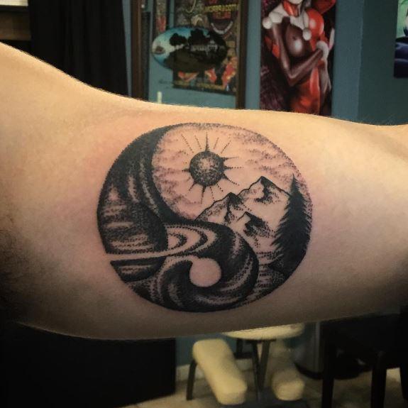 Yin Yang Tattoos
