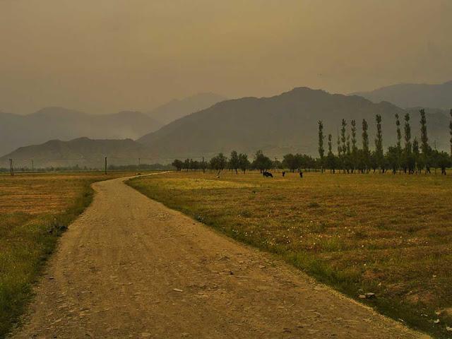 travel kashmir village