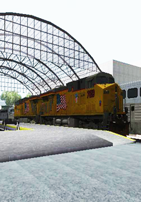 Free Download GE ES44AC Freight Union Pacific V3.0 Mod for GTA San Andreas.