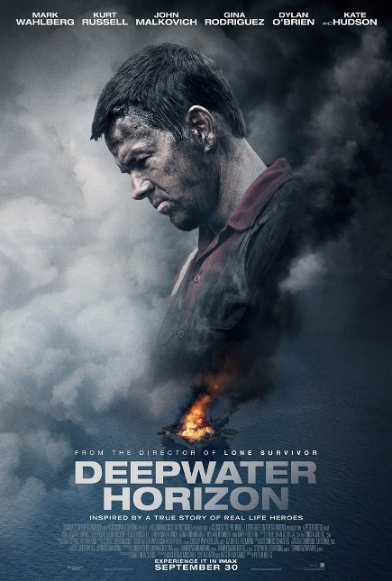 DEEPWATER HORIZON (2016) movie review by Glen Tripollo