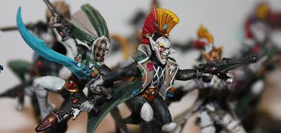 Painted GW Harlequins