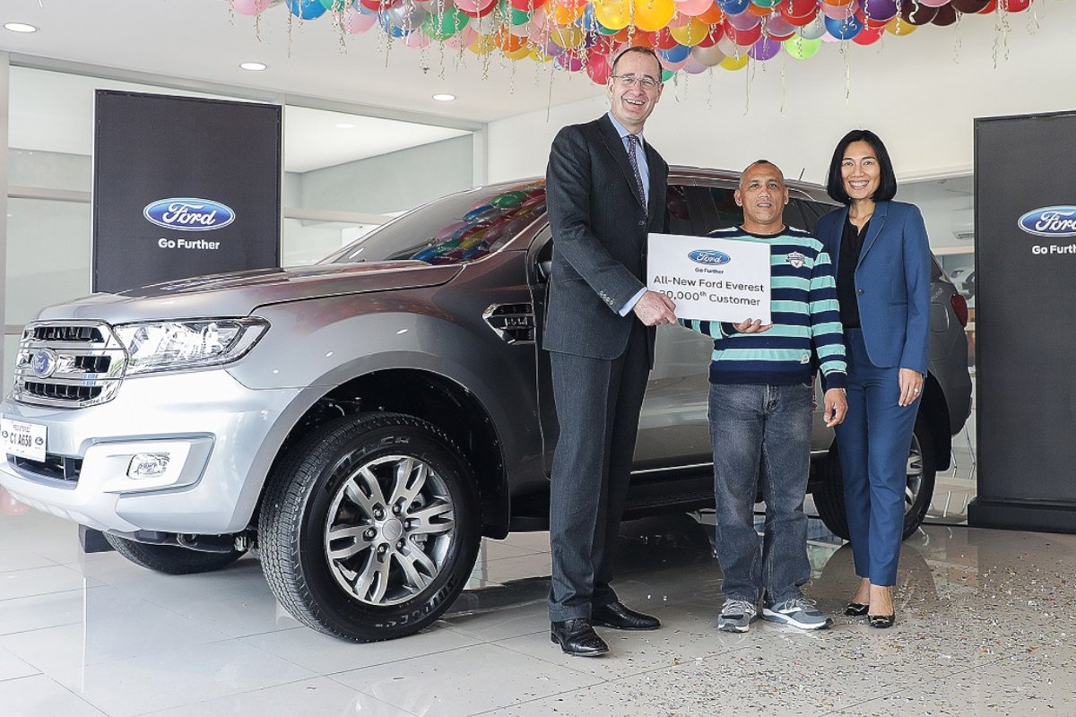 Timoteo pardillo a 59 year old overseas filipino worker ofw employed as a seaman recently became the 30000th customer of the current generation ford