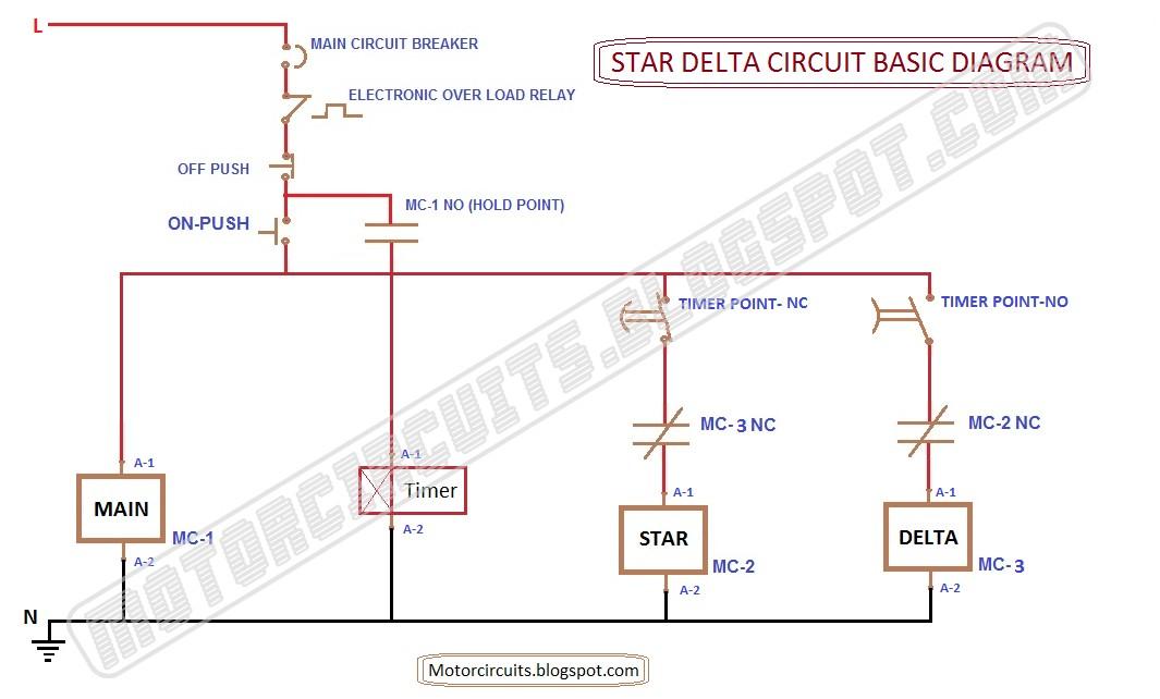 MOTOR CIRCUITS Motor Control Circuit Diagrams