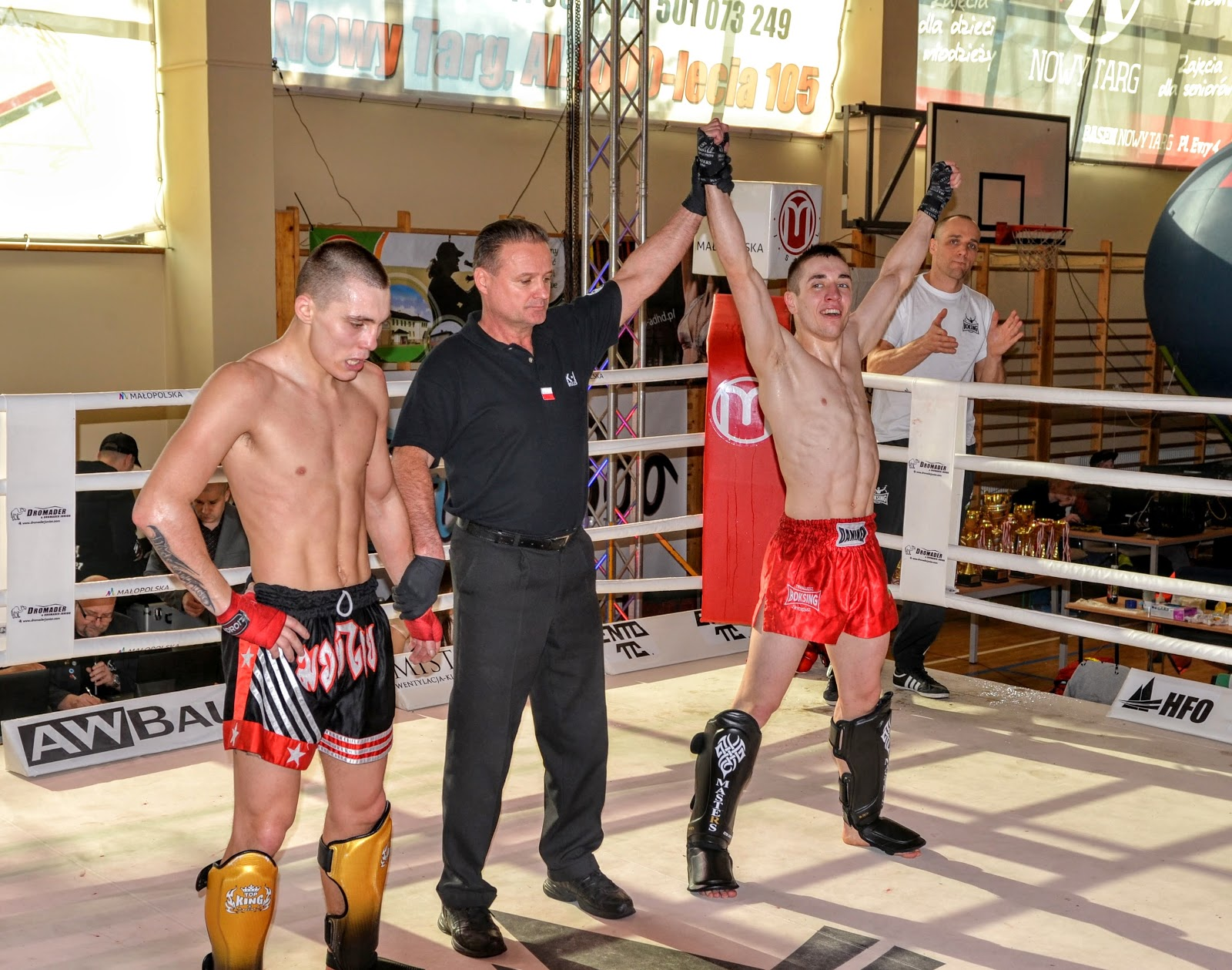 Wygraliśmy na Pucharze Polski K1 Rules. Złoto jest nasze !