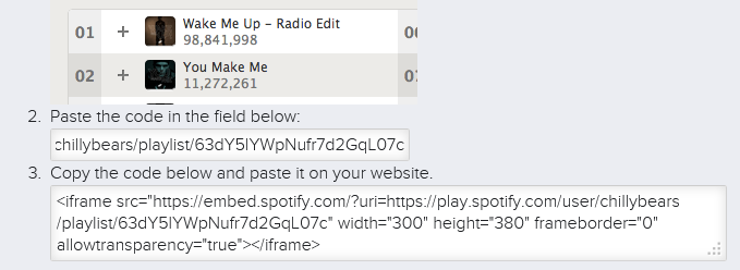 How to create a playlist in spotify