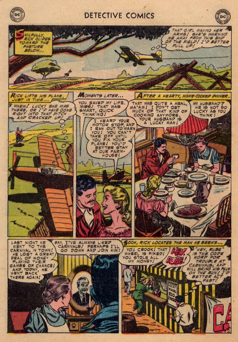 Read online Detective Comics (1937) comic -  Issue #212 - 21