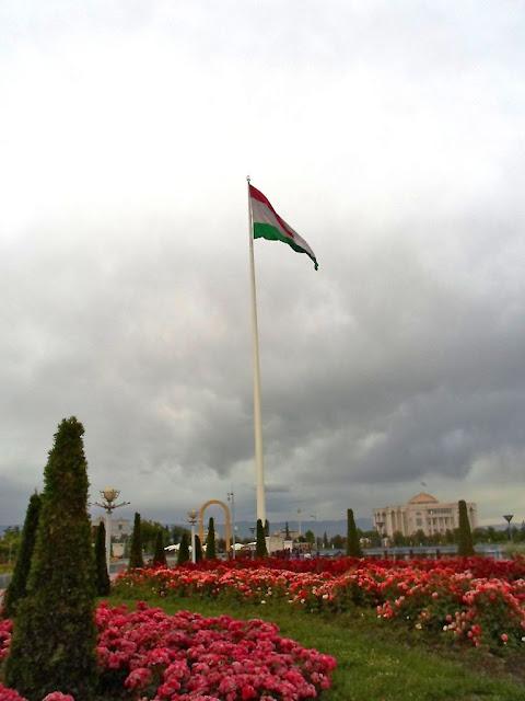 Парк Национального Флага - Душанбе, Таджикистан - фото