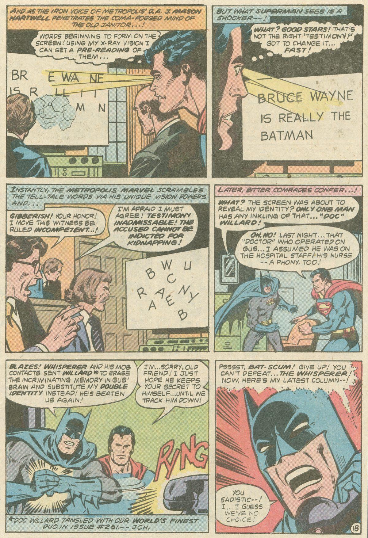 Read online World's Finest Comics comic -  Issue #252 - 24