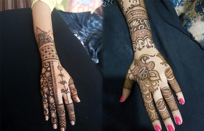 Mehandi designs Hands