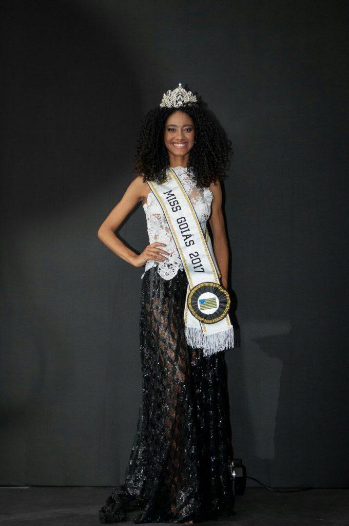 Adriana Benício foi eleita Miss Goiás 2017. Foto: André Luz