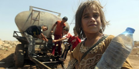 Láncra vertek és hagytak szomjan halni egy kislányt az ISIS terroristái