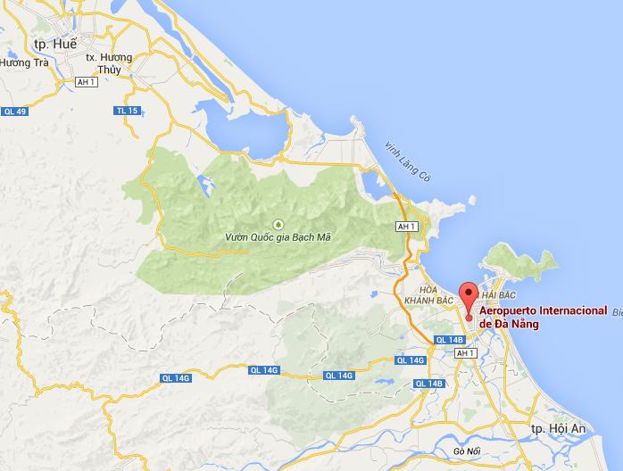 Mapa de Hoi An - guía para viajar a Vietnam