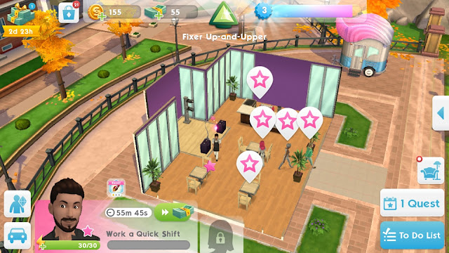 The Sims Mobile | Working | For Gamers Like Me