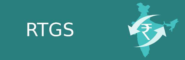 Real time gross settlement (RTGS) logo,SBI,RBI,RTGS vs NEFT