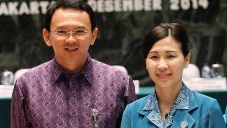 Benarkah Ahok Menggugat Cerai Veronica Tan?