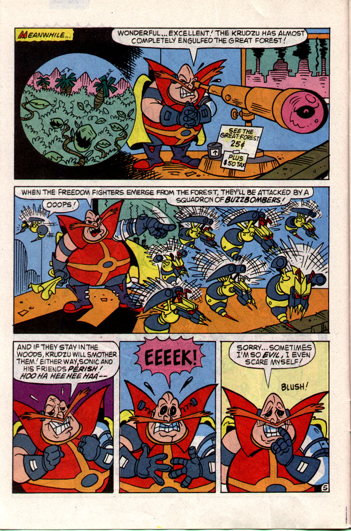 Read online Sonic The Hedgehog comic -  Issue #1 - 11