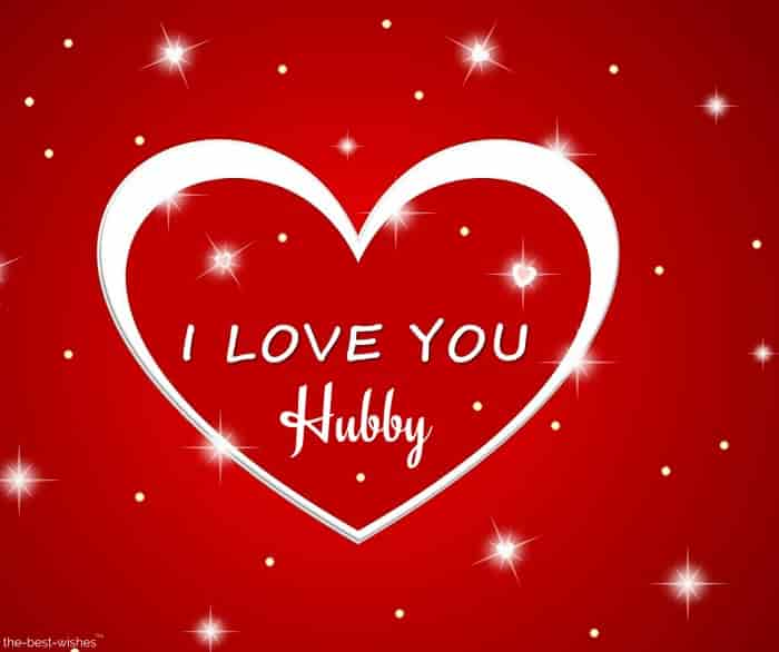 i love you hubby