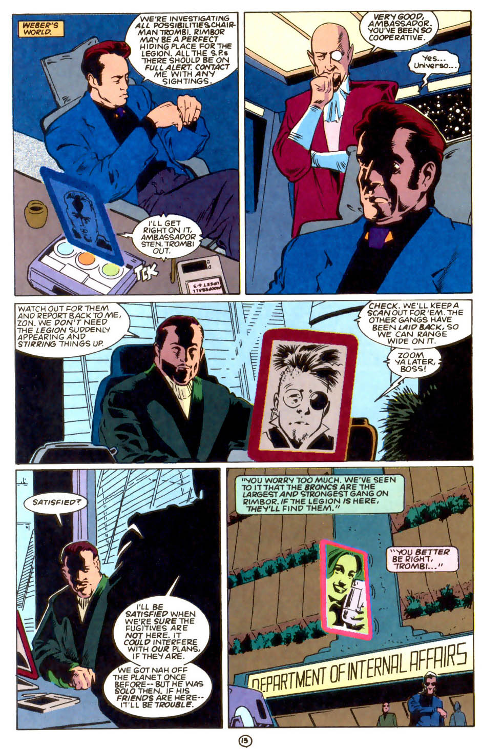 Legion of Super-Heroes (1989) 55 Page 13