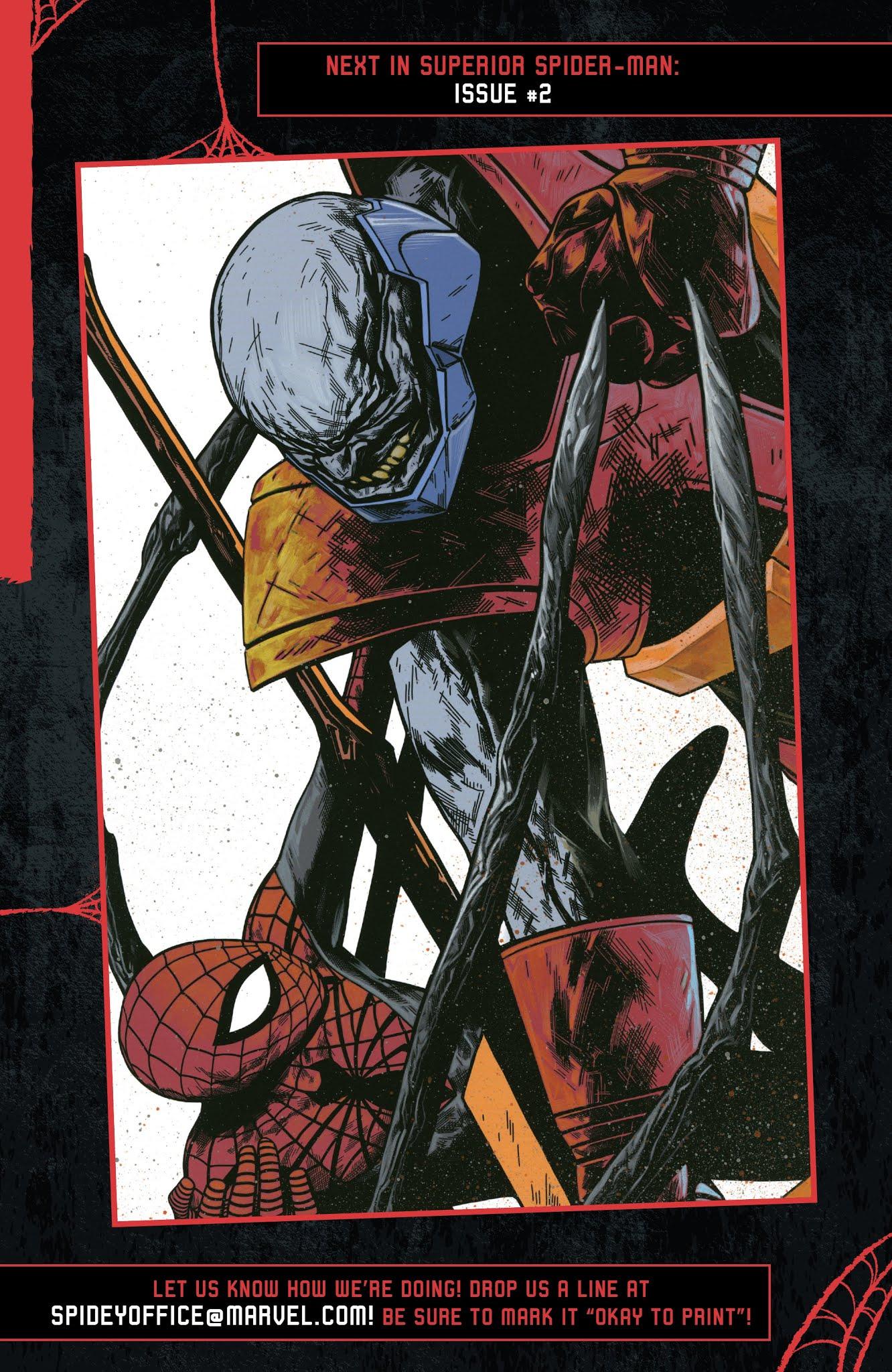 Superior Spider-Man (2019) issue 1 - Page 23