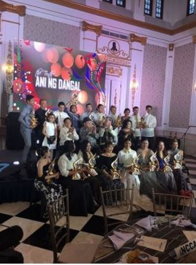 Angel Locsin and Fellow Film Artists Was Recognized By 'Ani ng Dangal 2018'