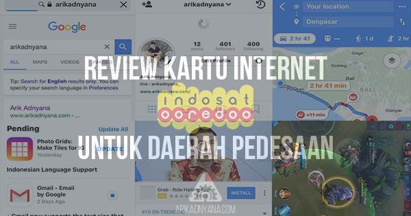 Review Kartu Internet Indosat Ooredoo Untuk di Desa