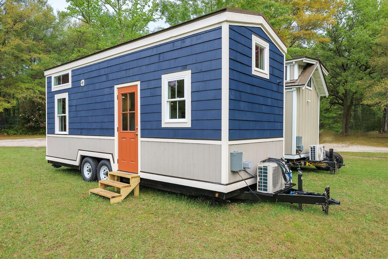 Tiny House Town The Indigo Tiny House From Driftwood