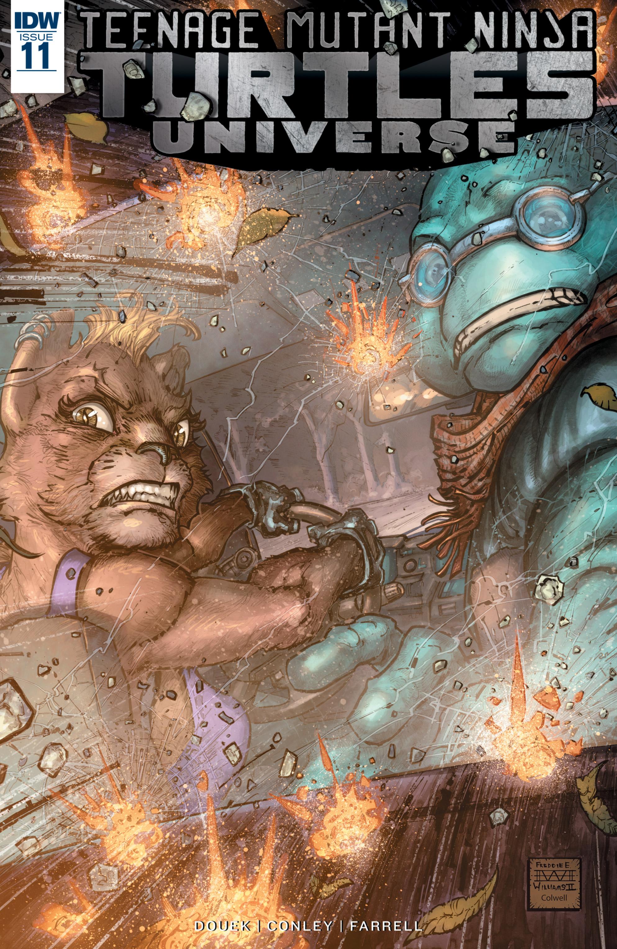 Read online Teenage Mutant Ninja Turtles Universe comic -  Issue #11 - 1