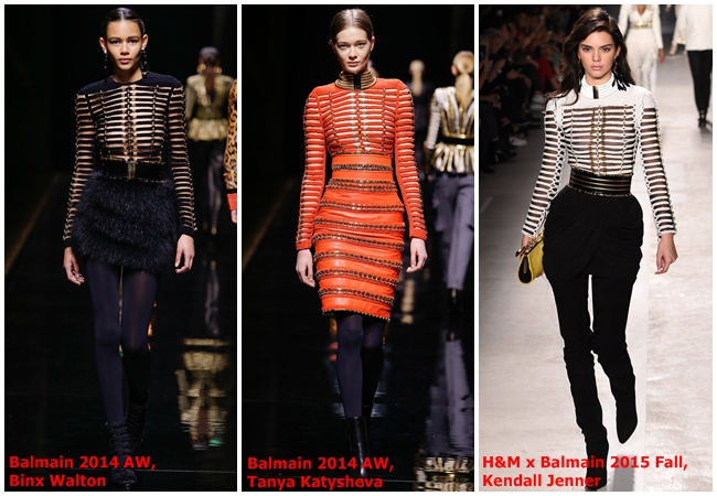Balmain x H&M 2015 Fall Collection