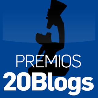 Vótame en los Premios 20Blogs 2015