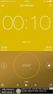 favorite fitness apps: interval timer