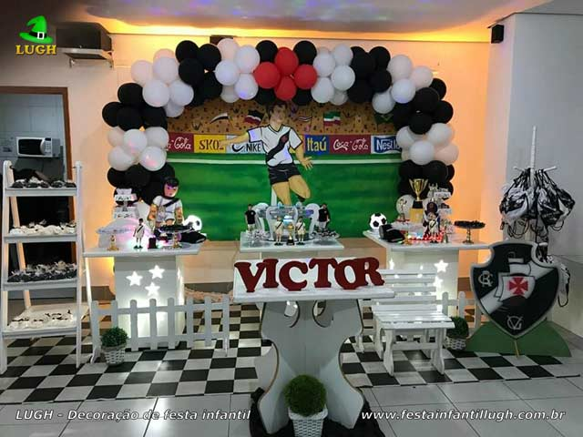 Decoração de festa tema Vasco da Gama para aniversário infantil, teen e adultos