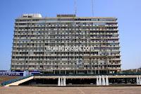 Tel Aviv-Yaffa City Hall (1964) , Architects: Menachem Cohen, Yaski-Alexandroni